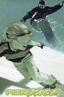 "Snowboarding Action ""Air Rage Duo"" Poster - Image Source"