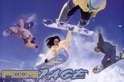 "Snowboarding ""Air Rage Four"" Action Poster - Image Source"