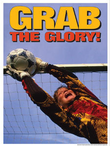 """Grab the Glory"" (Kids Soccer Save) - Fitnus Corp."