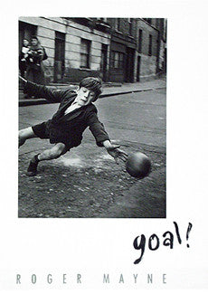 Goal! Soccer in the Street Poster Print - Candyminster TA
