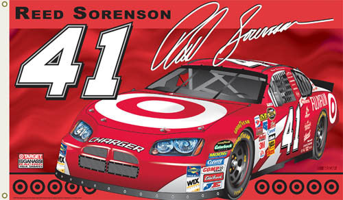 "Reed Sorenson ""Reed Nation"" 3'x5' Flag (2007 Edition)"