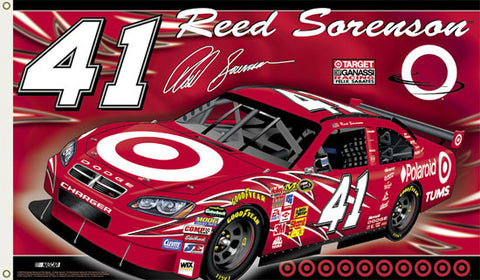 "Reed Sorenson ""Reed Nation"" 3'x5' Flag - BSI 2008"