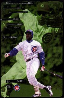 "Sammy Sosa ""So..."" Chicago Cubs Poster - Costacos 1998"