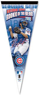 "Geovany Soto ""ROY"" Premium Collector's Pennant - Wincraft Inc."