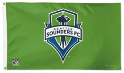 Seattle Sounders Official MLS Soccer DELUXE 3' x 5' Flag - Wincraft Inc.