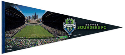 Seattle Sounders Stadium MLS Gameday EXTRA-LARGE Premium Felt Pennant