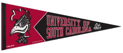 South Carolina Gamecocks NCAA College Vault 1950s-Style Premium Felt Collector's Pennant - Wincraft Inc.