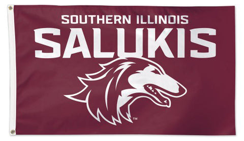 Southern Illinois University Salukis NCAA Deluxe-Edition 3'x5' Flag - Wincraft Inc.