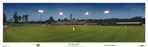 Southern Miss Baseball Pete Taylor Park Panorama - USA Sports Inc.