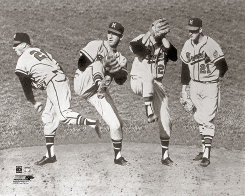 "Warren Spahn ""Windup"" (c.1957) - Photofile Inc."