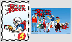 Speed Racer (1967-68 Anime Television Series) 2-Poster Commemorative Combo - Import Images 2003
