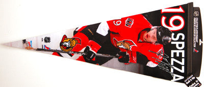 "Jason Spezza ""Big-Time"" EXTRA-LARGE Premium Felt Pennant"