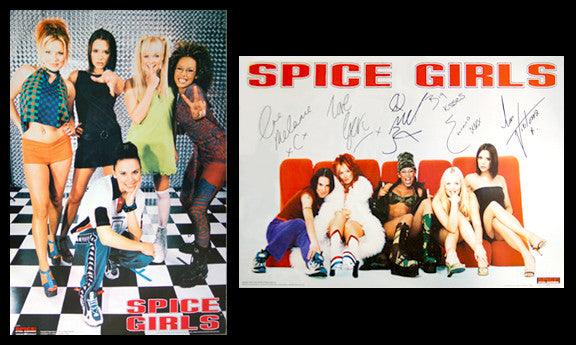 The Spice Girls Vintage 2-Poster Combo - Bravado 1997