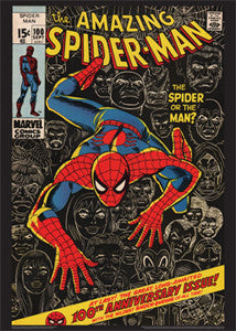 The Amazing Spider-Man #100 (Sept. 1971) Cover Poster - Asgard Press