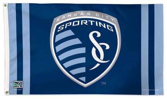 Sporting Kansas City Official MLS Soccer DELUXE 3' x 5' Flag - Wincraft Inc.