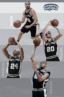 "San Antonio Spurs ""Quartet"" - Costacos 2009-10"