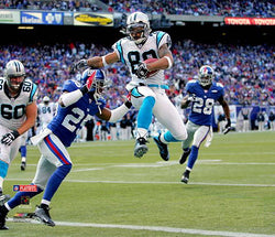 "Steve Smith ""Touchdown!"" (2006) Carolina Panthers Premium Poster Print - Photofile 16x20"