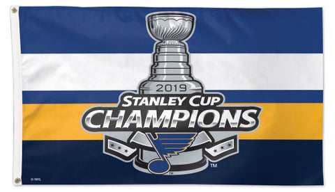 St. Louis Blues 2019 NHL Stanley Cup Champions DELUXE 3'x5' FLAG - Wincraft