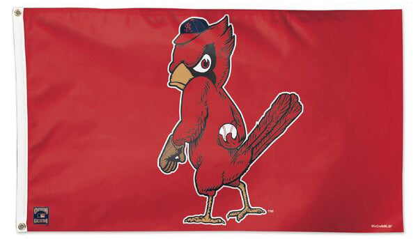 St. Louis Cardinals Retro 1950s Style Cooperstown Collection MLB Baseball Deluxe-Edition 3'x5' Flag