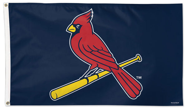 "St. Louis Cardinals ""Bird-on-Bat"" Style MLB Baseball Deluxe-Edition 3'x5' Flag - Wincraft"