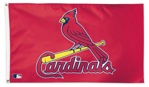 St. Louis Cardinals Official MLB Baseball Team Logo 3'x5' Deluxe-Edition Flag - Wincraft Inc.