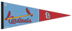 "St. Louis Cardinals ""Powder Blue"" Premium MLB Cooperstown Collection Felt Pennant - Wincraft"