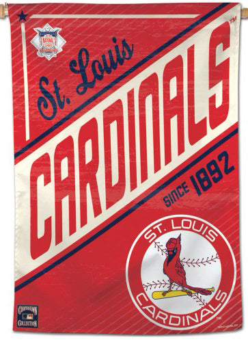 "St. Louis Cardinals ""Since 1892"" Cooperstown Collection Premium 28x40 Wall Banner - Wincraft Inc."