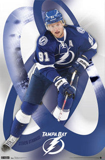 "Steven Stamkos ""Superstar"" Tampa Bay Lightning Poster - Costacos Sports"