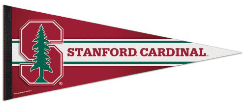 Stanford Cardinal Official NCAA Sports Team Logo Premium Felt Pennant - Wincraft Inc.