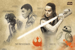 "Star Wars Episode 8 The Last Jedi ""The Resistance"" Premium 24x36 Poster - Trends International 2017"