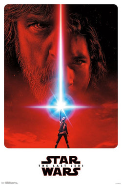Star Wars Episode 8 The Last Jedi Official Theatrical Teaser Poster - Trends International 2017