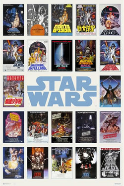 "Star Wars ""Worldwide"" 22 International 1977-83 One-Sheet Poster Reproductions Poster - Grupo Erik"
