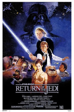 Star Wars Return of the Jedi (1983) Official Original One-Sheet Movie Poster Reprint - Grupo Erik