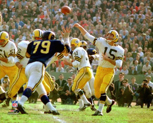 "Bart Starr ""Classic Action"" (c.1962) Green Bay Packers Premium Poster Print  - Photofile Inc."
