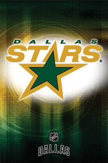Dallas Stars Official NHL Team Logo (1994-2013 Style) Poster - Costacos