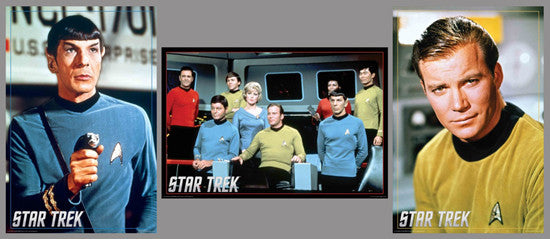 COMBO: Star Trek (Original Series) 3-Poster Set - Aquarius Images