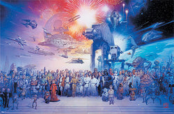 The Star Wars Universe by Tsuneo Sanda Wall POSTER - Trends International