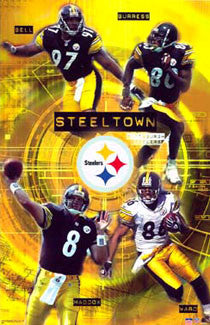 "Pittsburgh Steelers ""Steeltown"" - Starline 2003"