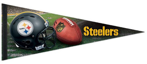 Pittsburgh Steelers Football Official NFL Premium Felt Collector's Pennant - Wincraft
