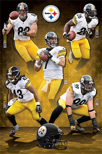 "Pittsburgh Steelers ""Five Alive"" (Miller, Bell, Roethlisberger, Polamalu, Keisel) - Costacos 2014"
