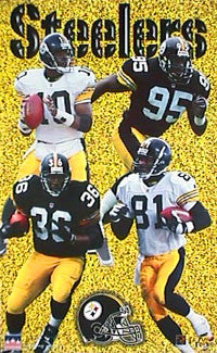 "Pittsburgh Steelers ""Four Stars"" - Starline 1997"