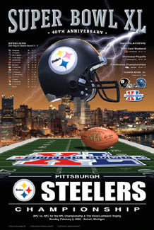 "Pittsburgh Steelers ""AFC Champions"" - Action Images 2006"