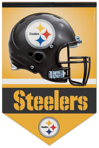 Pittsburgh Steelers Official NFL Football Premium Felt Banner - Wincraft Inc.