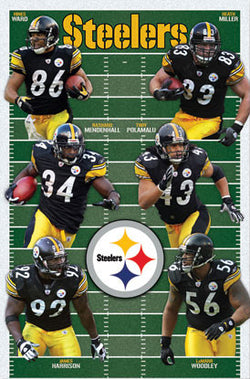 "Pittsburgh Steelers ""Super Six"" (2010) - Costacos Sports"