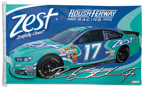 Ricky Stenhouse Jr. NASCAR #17 Official HUGE 3'x5' Commemorative Flag - Wincraft