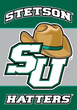 Stetson University Hatters Official 28x40 NCAA Premium Team Banner - BSI Products