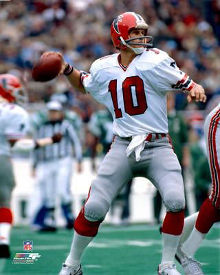 "Steve Bartkowski ""Falcons Classic"" (c.1983) Atlanta Falcons Premium Poster  Print - Photofile Inc. – Sports Poster Warehouse"
