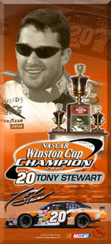 "Tony Stewart ""Big-Time Champ"" - Racing Reflections 2003"