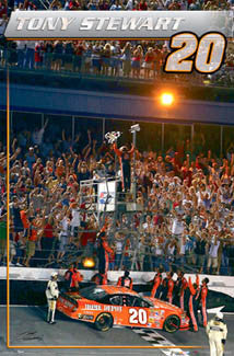"Tony Stewart ""Champion 2005"" - Costacos Sports"