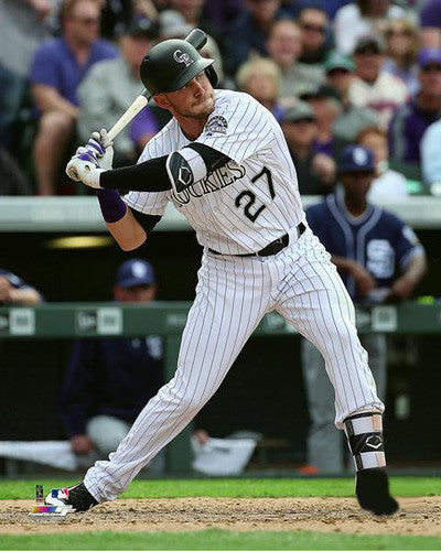 "Trevor Story ""Superstar"" Colorado Rockies Premium MLB Poster Print - Photofile 16x20"